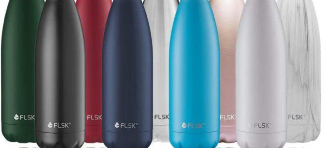 FLSK Trinkflasche viele Farben